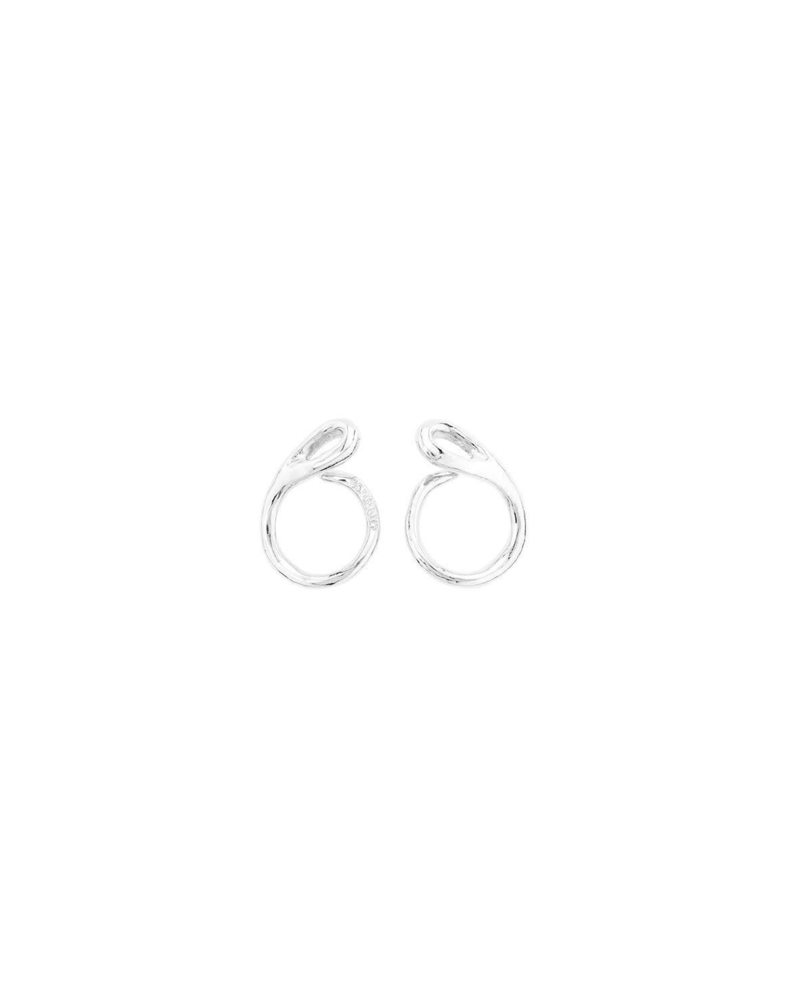 UNOde50 Tangled Earring Silver