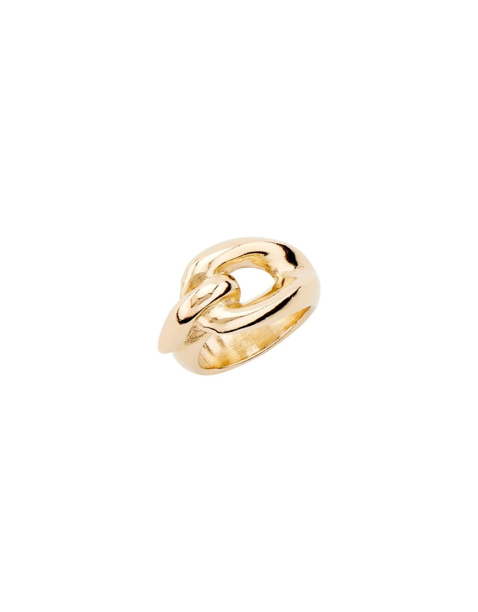 UNOde50 Sew Me Gold Ring