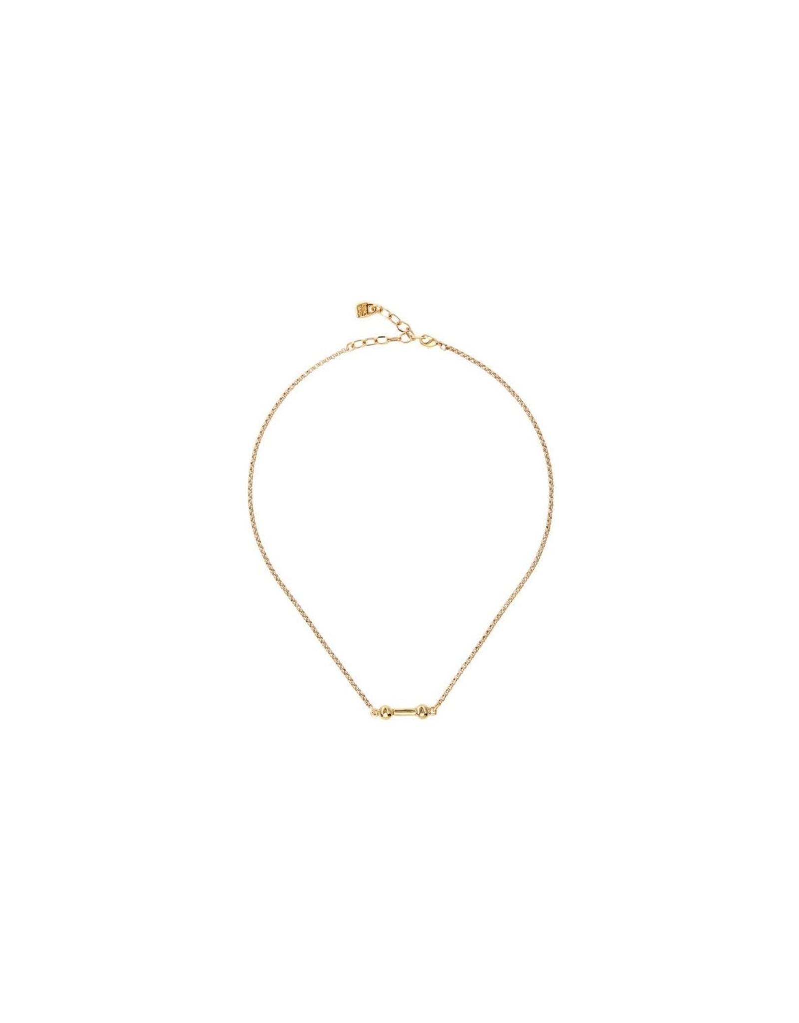 UNOde50 UNOde50 Choose One Gold Necklace