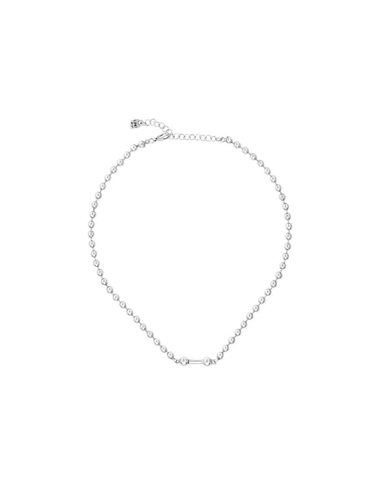 UNOde50 UNOde50 Pick One Silver Necklace