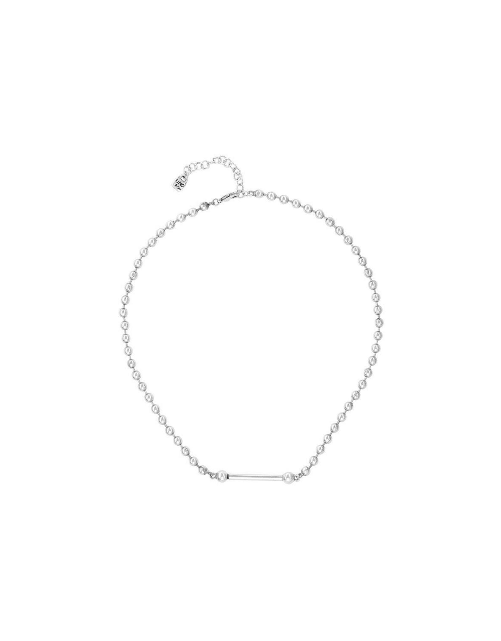 UNOde50 UNOde50 Pick 4 Silver Necklace