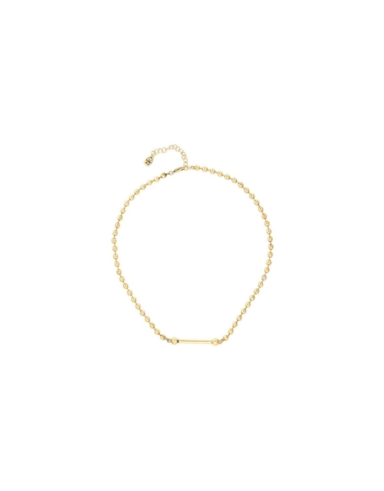 UNOde50 UNOde50 Pick 4 Gold Necklace