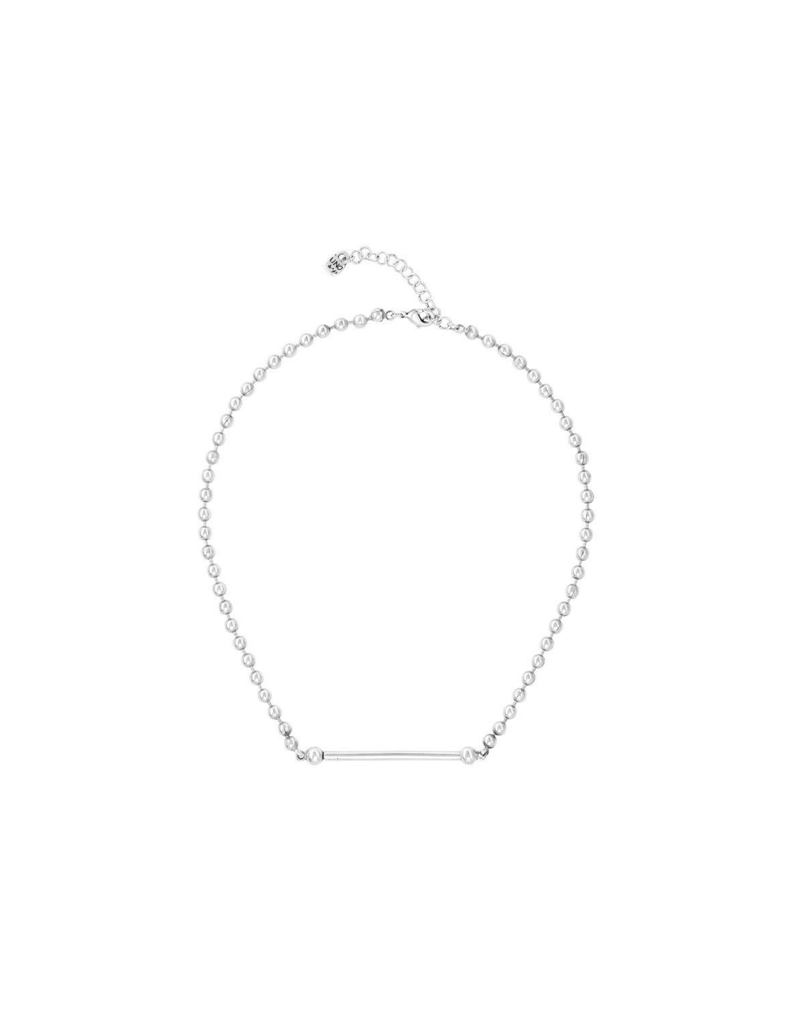 UNOde50 UNOde50 Pick  Silver Necklace