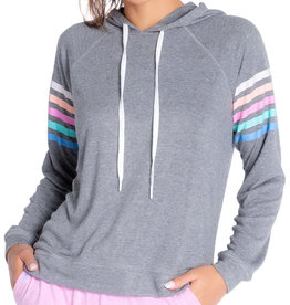 PJ Salvage PJ Salvage Color Classic Gray Hoodie