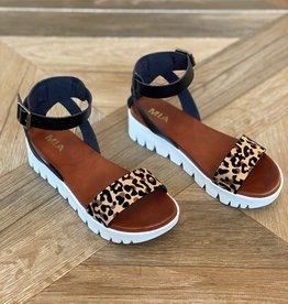 MIA Rina Platform Sandal Jaguar