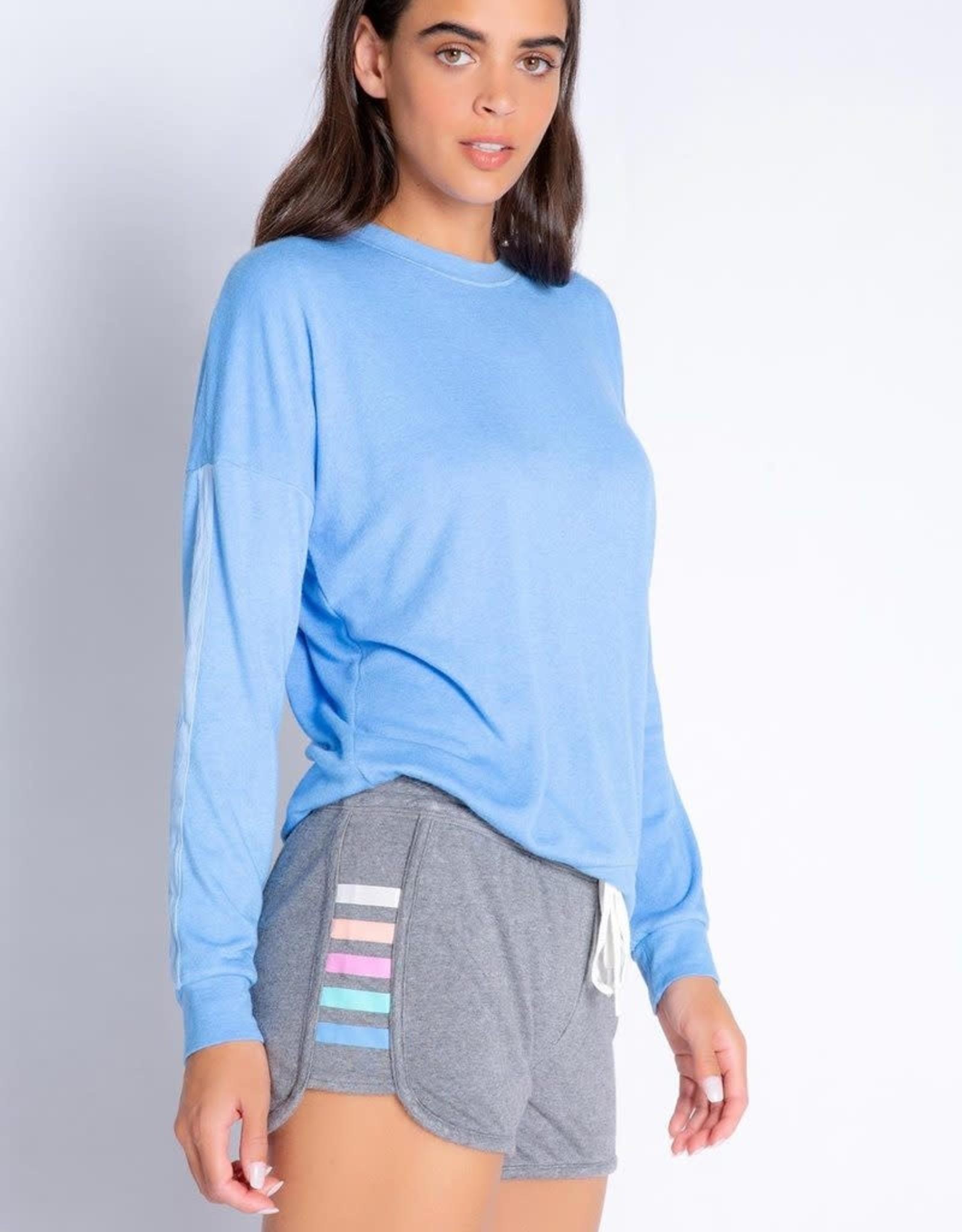 PJ Salvage PJ Salvage Color Classic Gray Shorts
