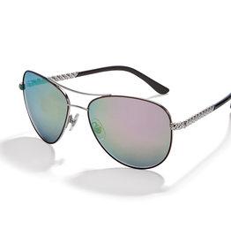 Brighton Helix Gr/Pnk  Sunglasses