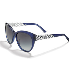 Brighton Interlok Braid Blue Sunglasses