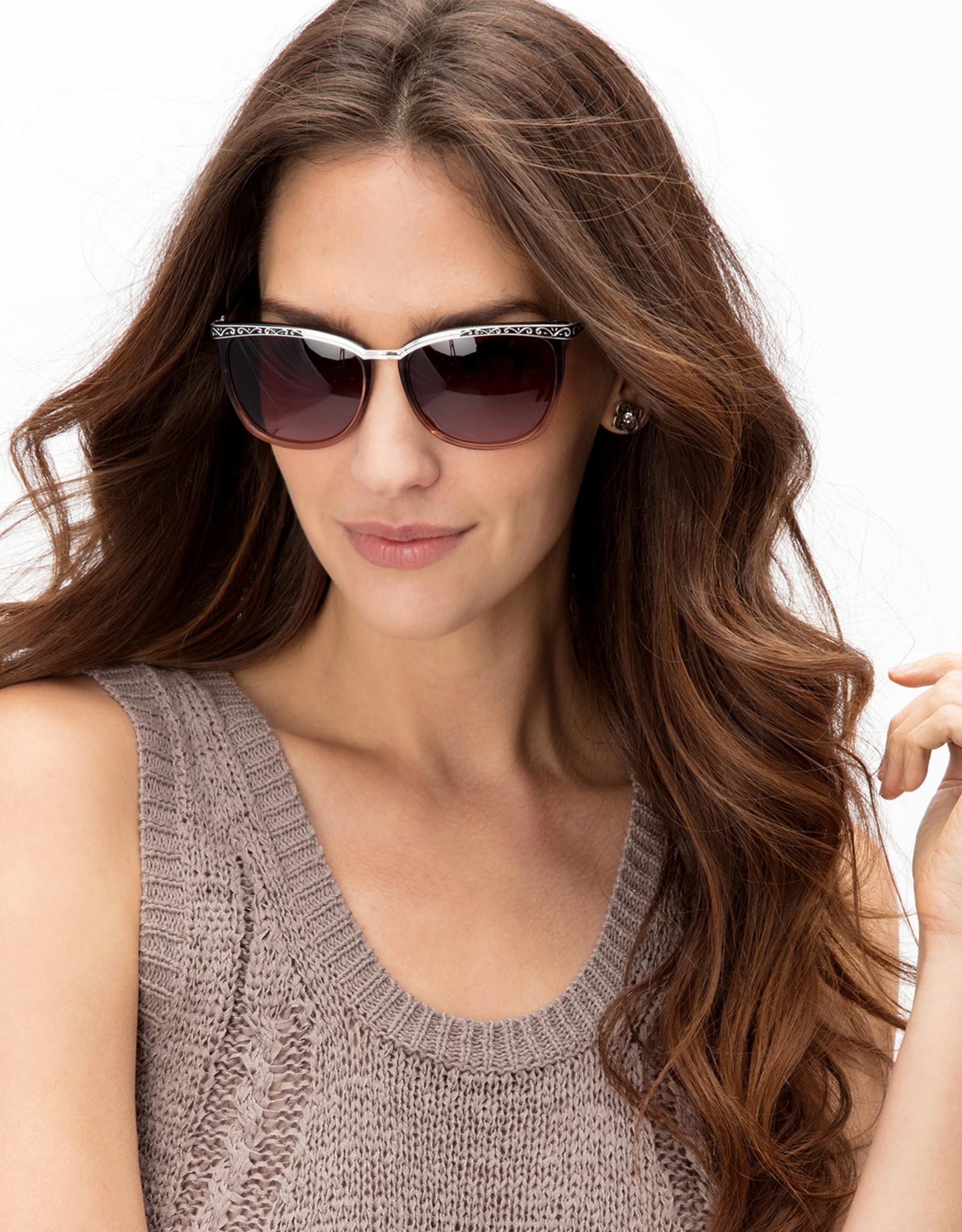 Brighton La Scala Fade Sunglasses Brown
