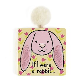 Jellycat Inc. If I Were a Rabbit Book Pink