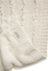 Barefoot Dreams Barefoot Dreams CozyChic Placed Fringe Blanket