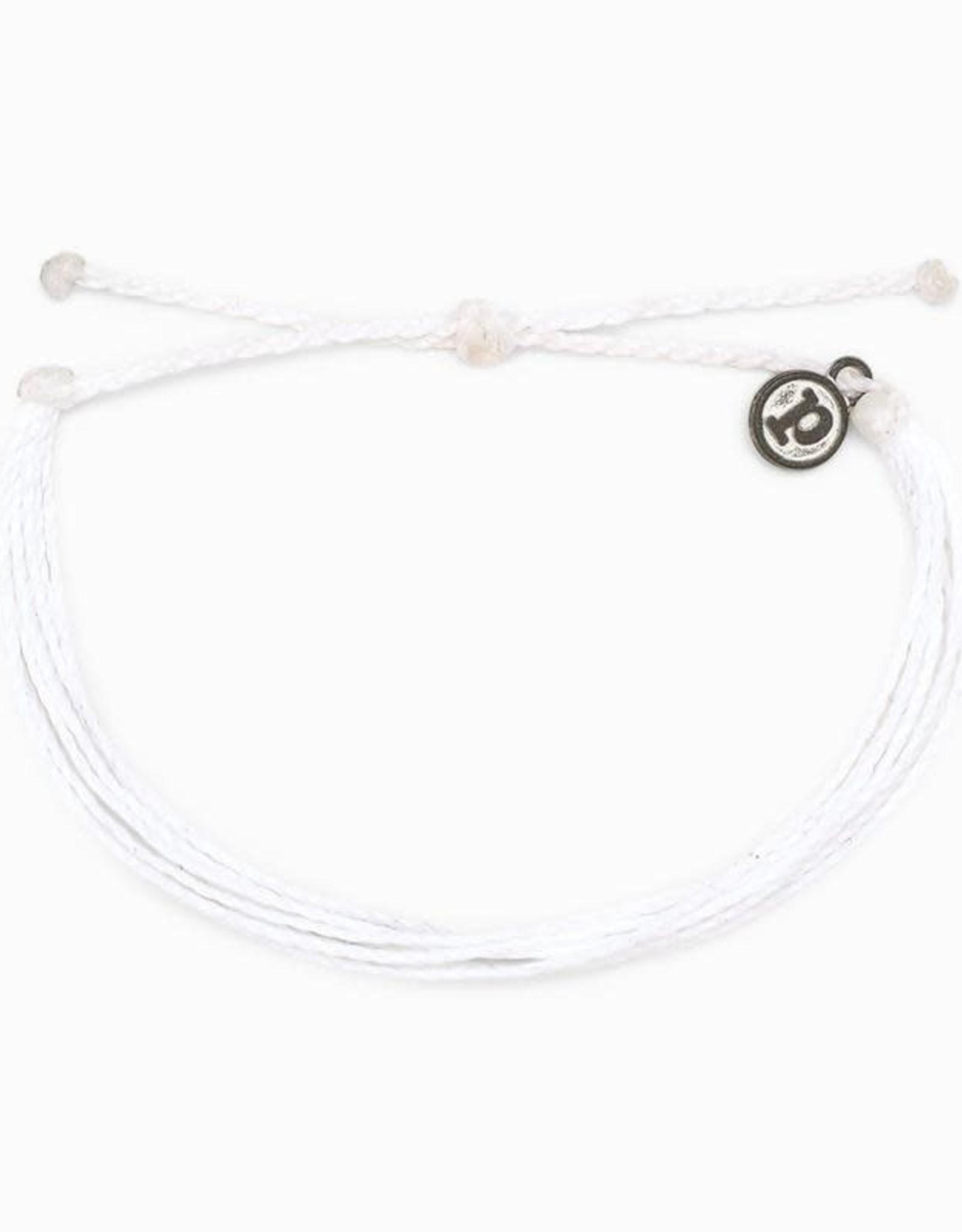Puravida Pura Vida Solid White Original Bracelet