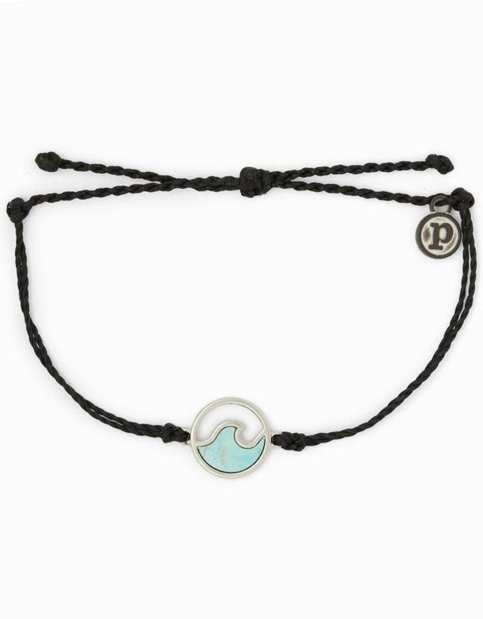 Puravida Stone Wave Bracelet Silver