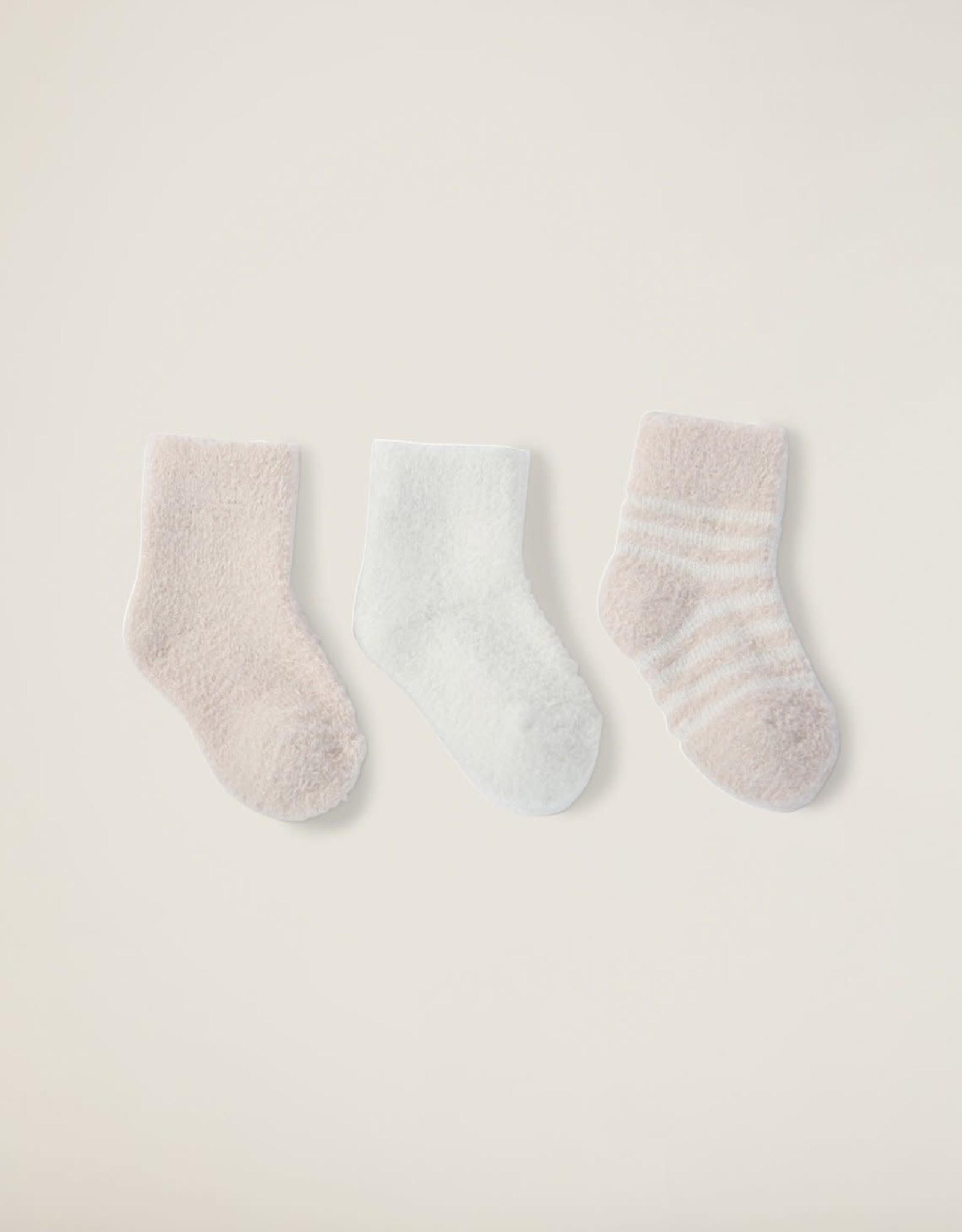 Barefoot Dreams Barefoot Dreams CozyChic Lite® Infant Sock Set