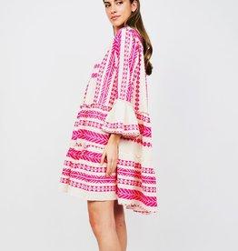 Sofia Tori Neon Hot Pink Dress O/S
