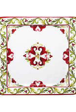 """Le Cadeaux Le Cadeux 11 """" Square Platter Sorento"""