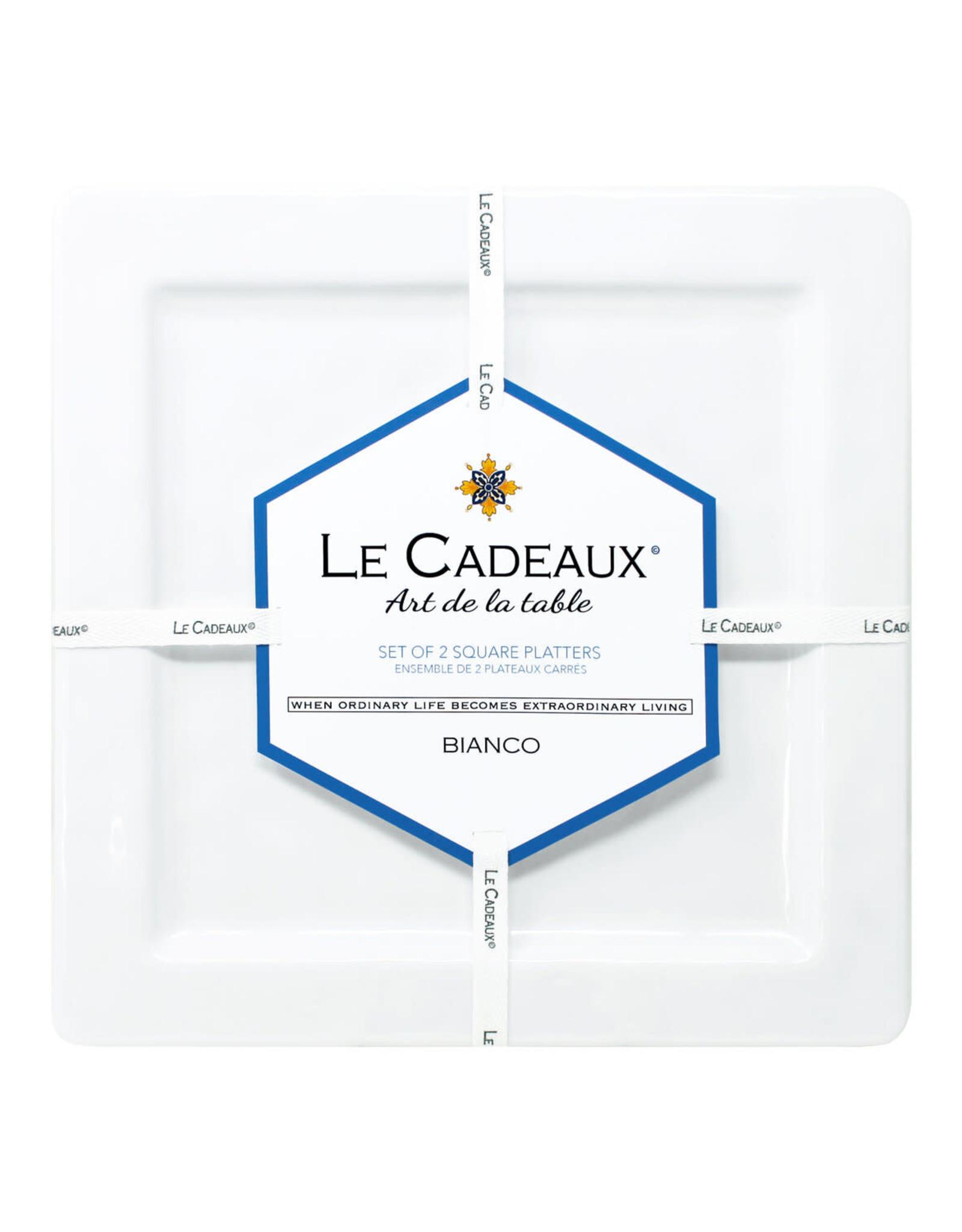 Le Cadeaux Le Cadeux Set of Two Serving Platters