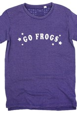 Kickoff Couture Go Frogs Trophy Vintage Wash Tee