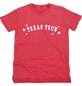 Kickoff Couture Texas Tech Trophy Vintage Wash Tee
