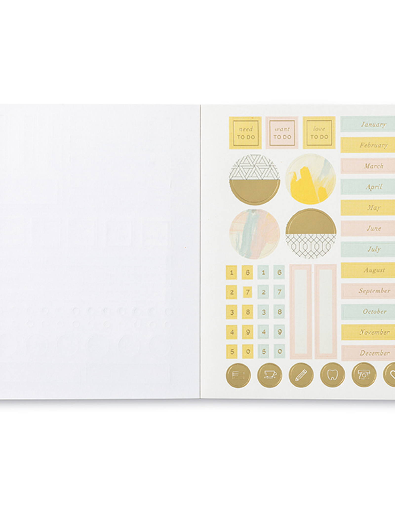 Compendium Compendium Delight In the Little Things Planner Stickers