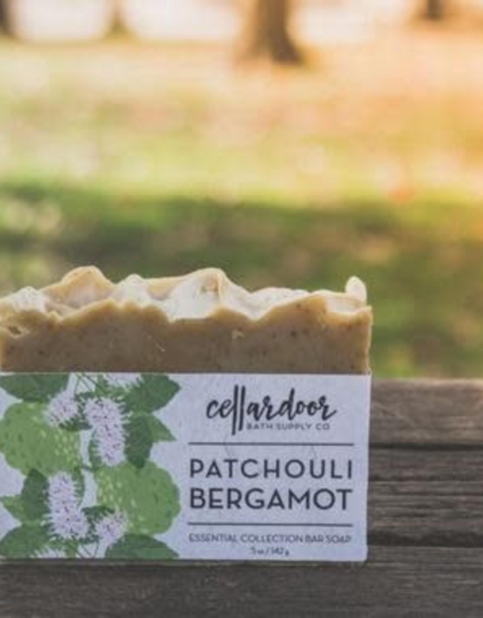 CellarDoor CellarDoor Bar Soap - Patchouli Bergamot