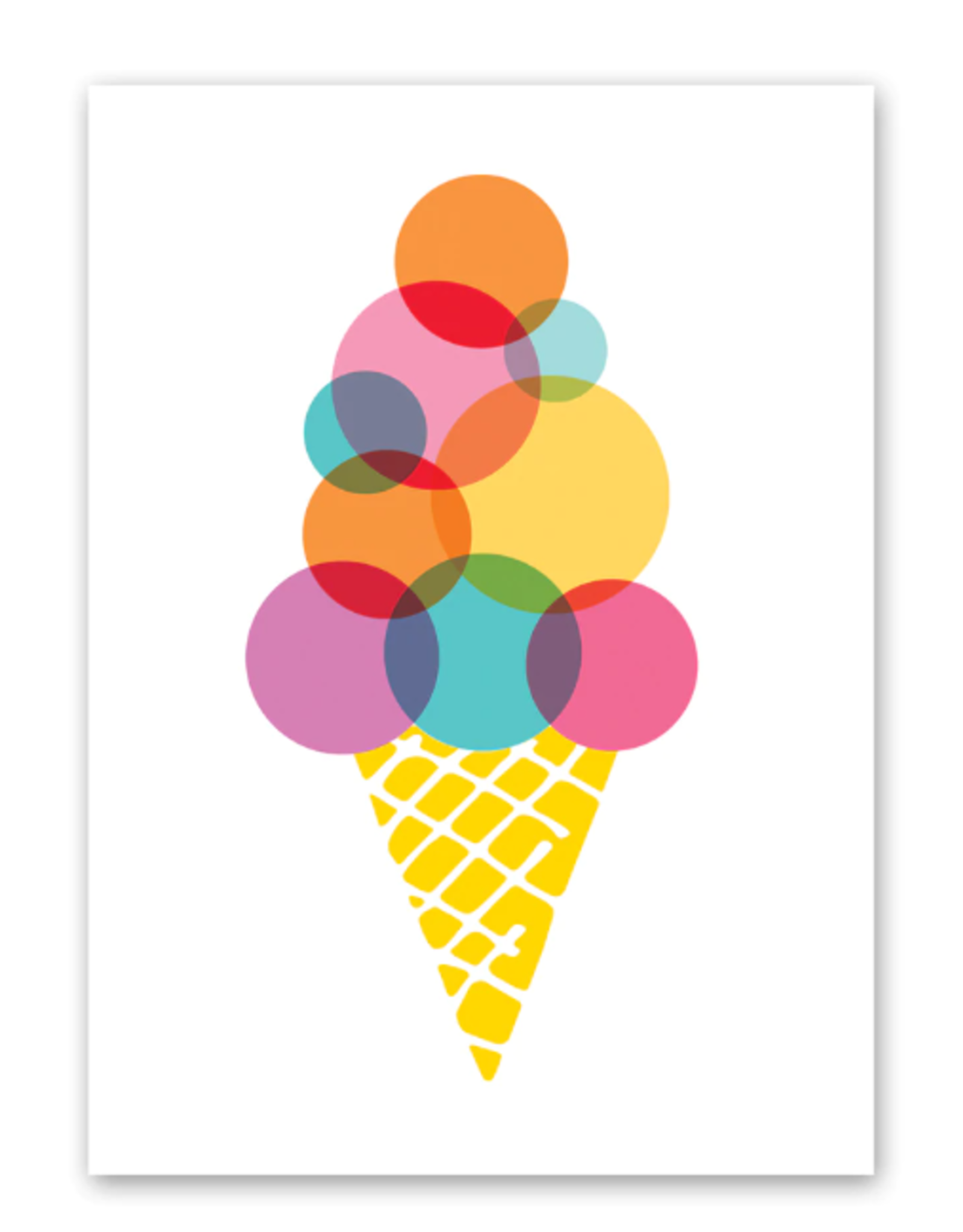 Rock Scissors Paper RSP GC - Colorful Ice Cream Birthday