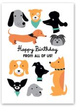 Rock Scissors Paper RPS GC - Dog Friends Birthday
