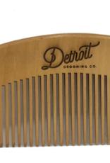 Detroit Grooming Co. Detroit Grooming Co Peachwood Comb