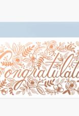 Rifle Paper Co. RPC GC | Champagne Floral Congrats No. 10