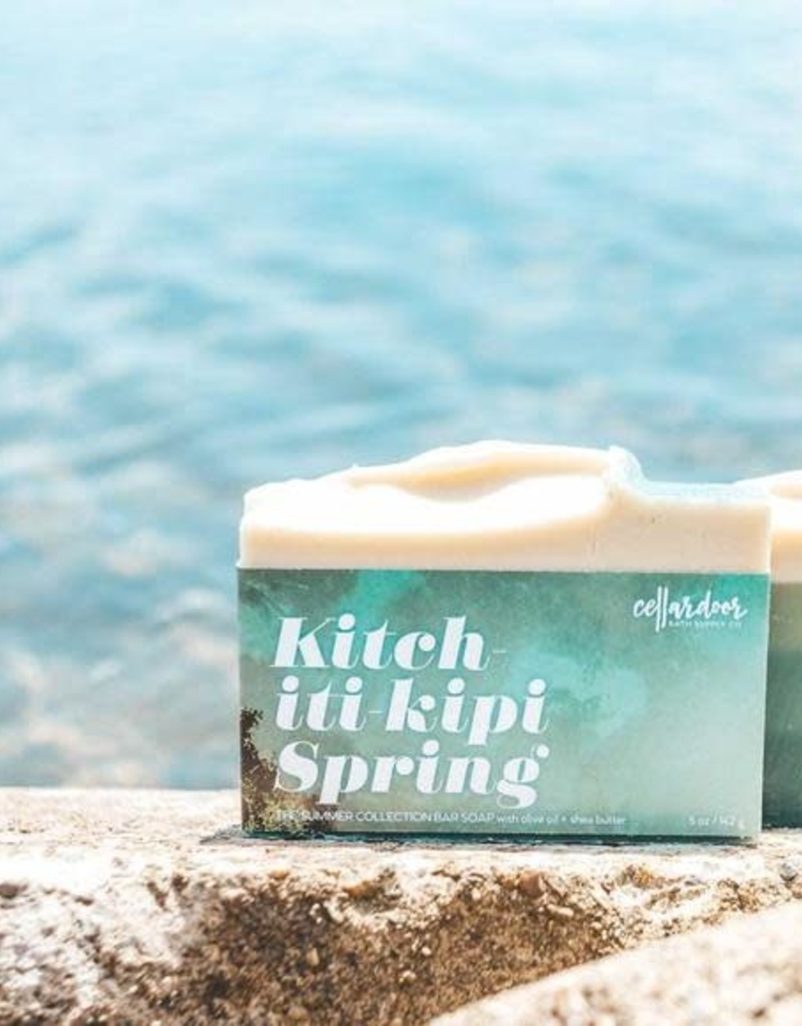 CellarDoor CellarDoor Bar Soap   Kitch-iti-kipi Spring