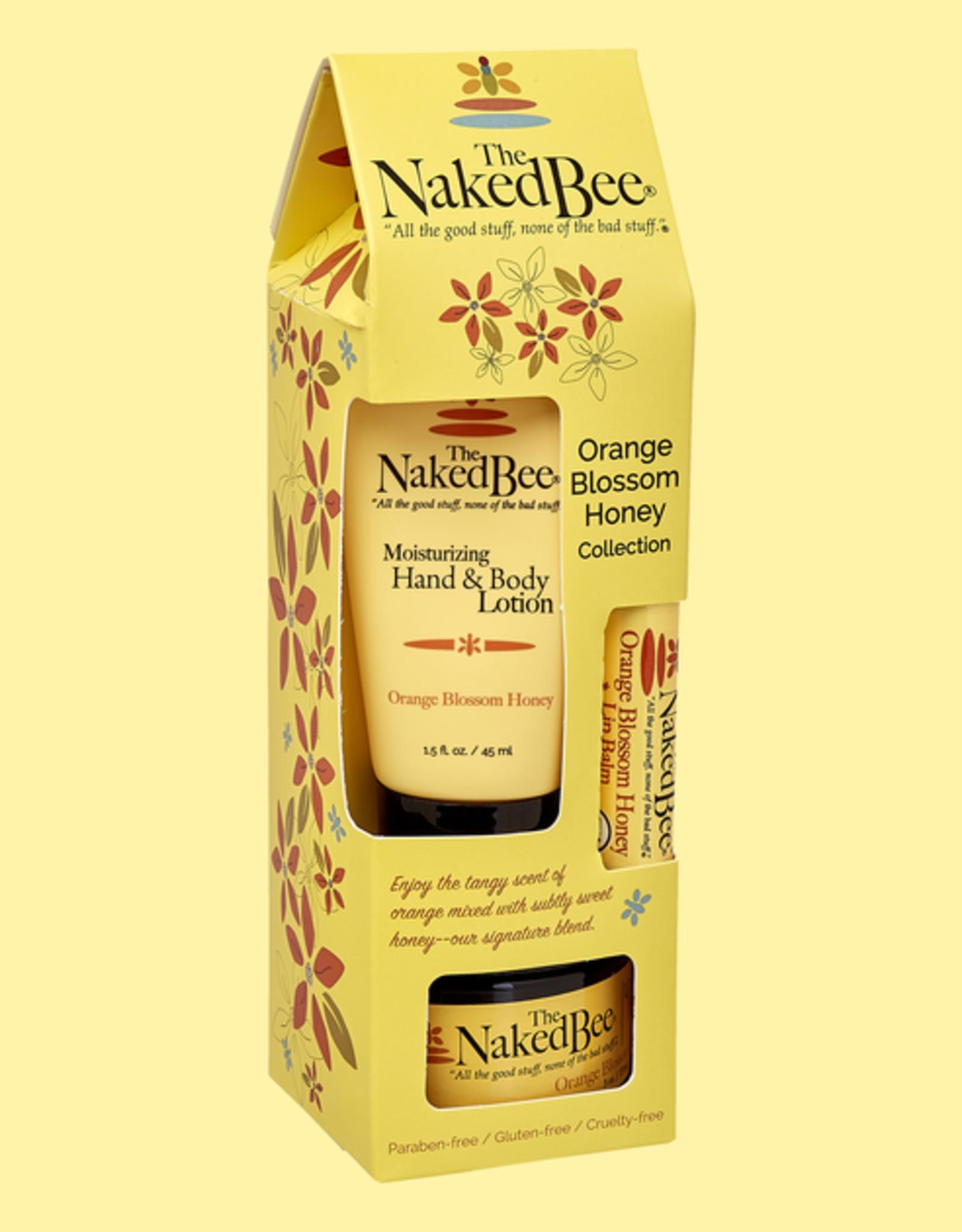 The Naked Bee The Naked Bee | Orange Blossom Honey Gift Set