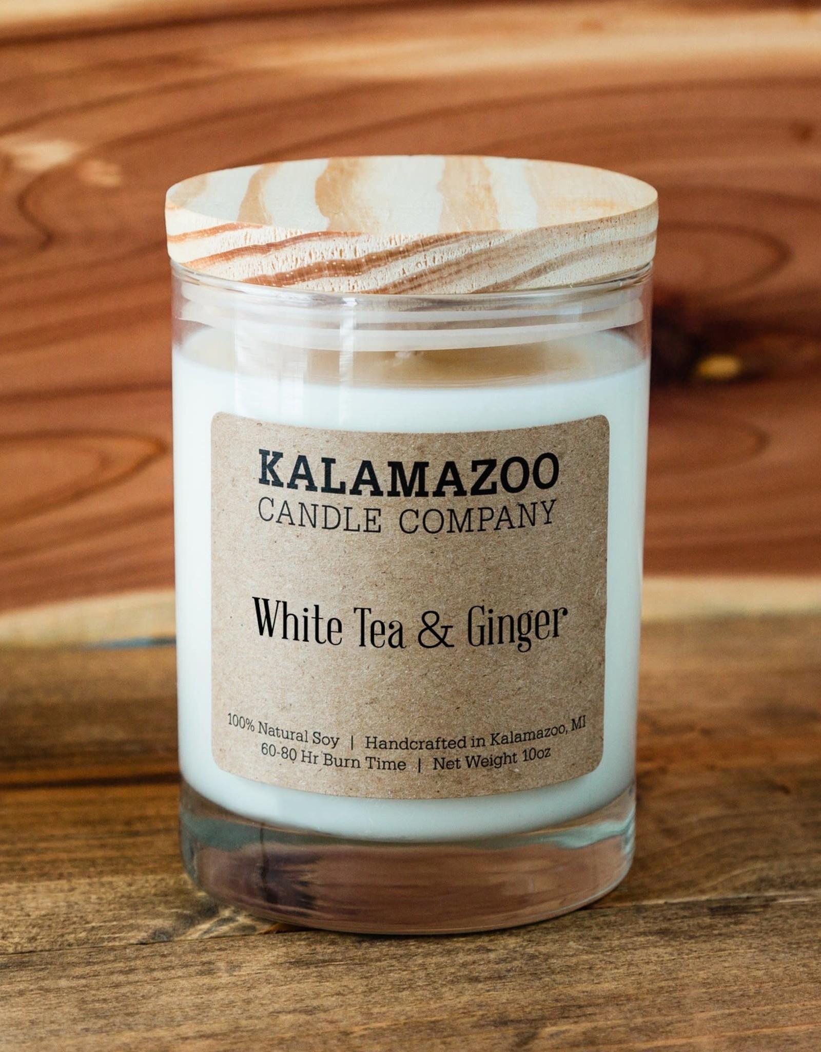Kalamazoo Candle Co. Kalamazoo Candle Co.   White Tea & Ginger 10oz Jar