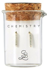Santa Barbara Chemistry Earring   Pewter
