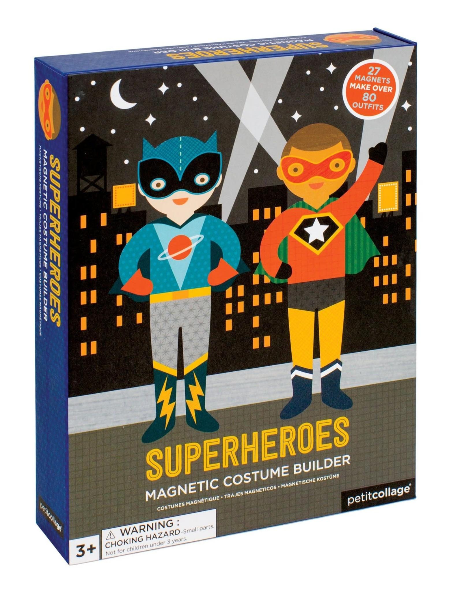 Superheroes Magnetic Costume Builder