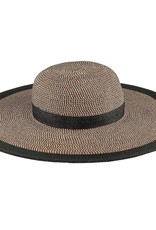 San Diego Hat Company Wmn's Water Repellent Striped Floppy Hat