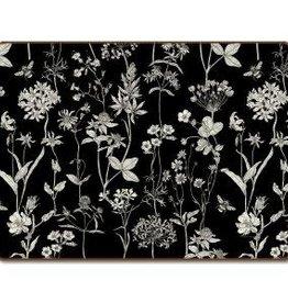 CounterArt Hardboard Placemat Boxed 4pk Midnight Garden