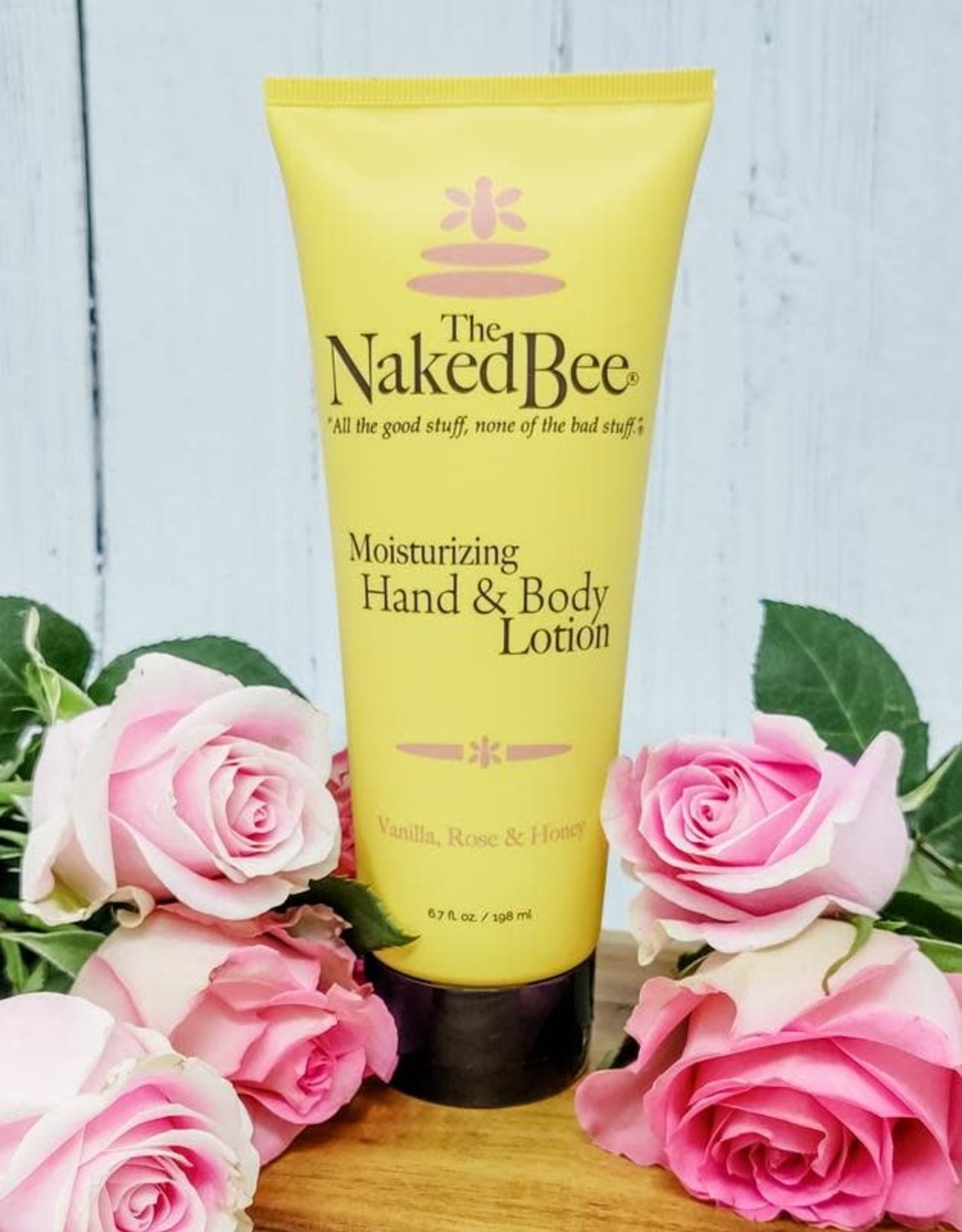 The Naked Bee The Naked Bee   6.7 oz. Vanilla, Rose & Honey Hand & Body Lotion