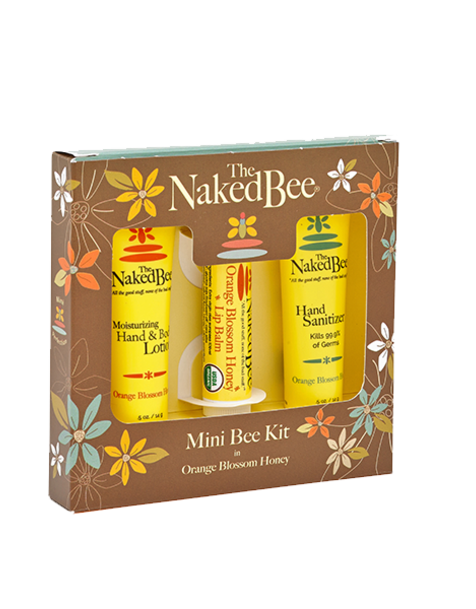The Naked Bee The Naked Bee   Orange Blossom Honey Mini Bee Kit
