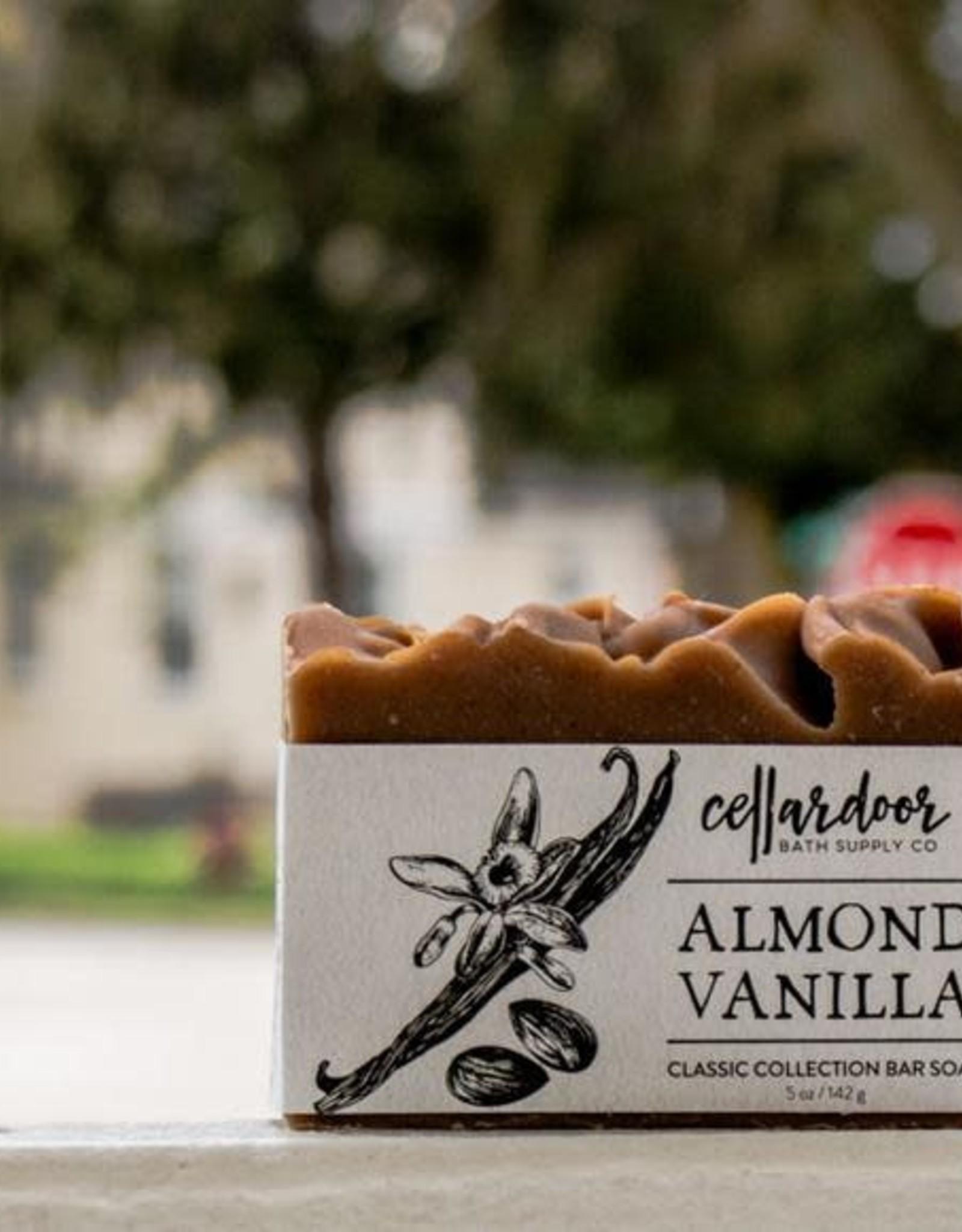 CellarDoor CellarDoor Bar Soap   Almond Vanilla