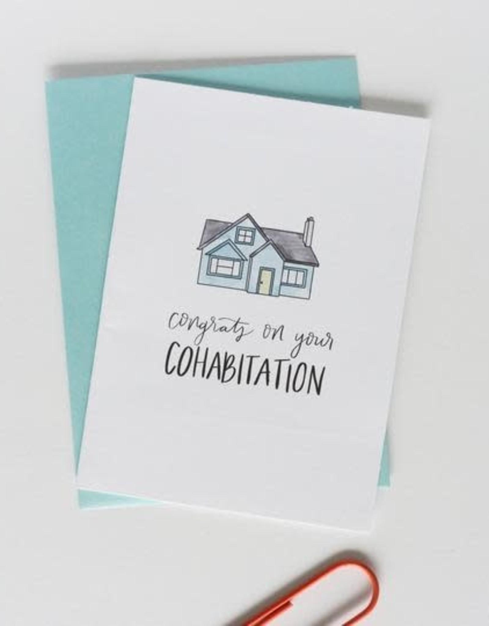 Ellen Katherine Designs EK Designs | Congrats on Your Cohabitation