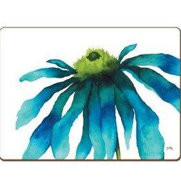 CounterArt Hardboard Placemat Boxed 4pk | watercolor flower