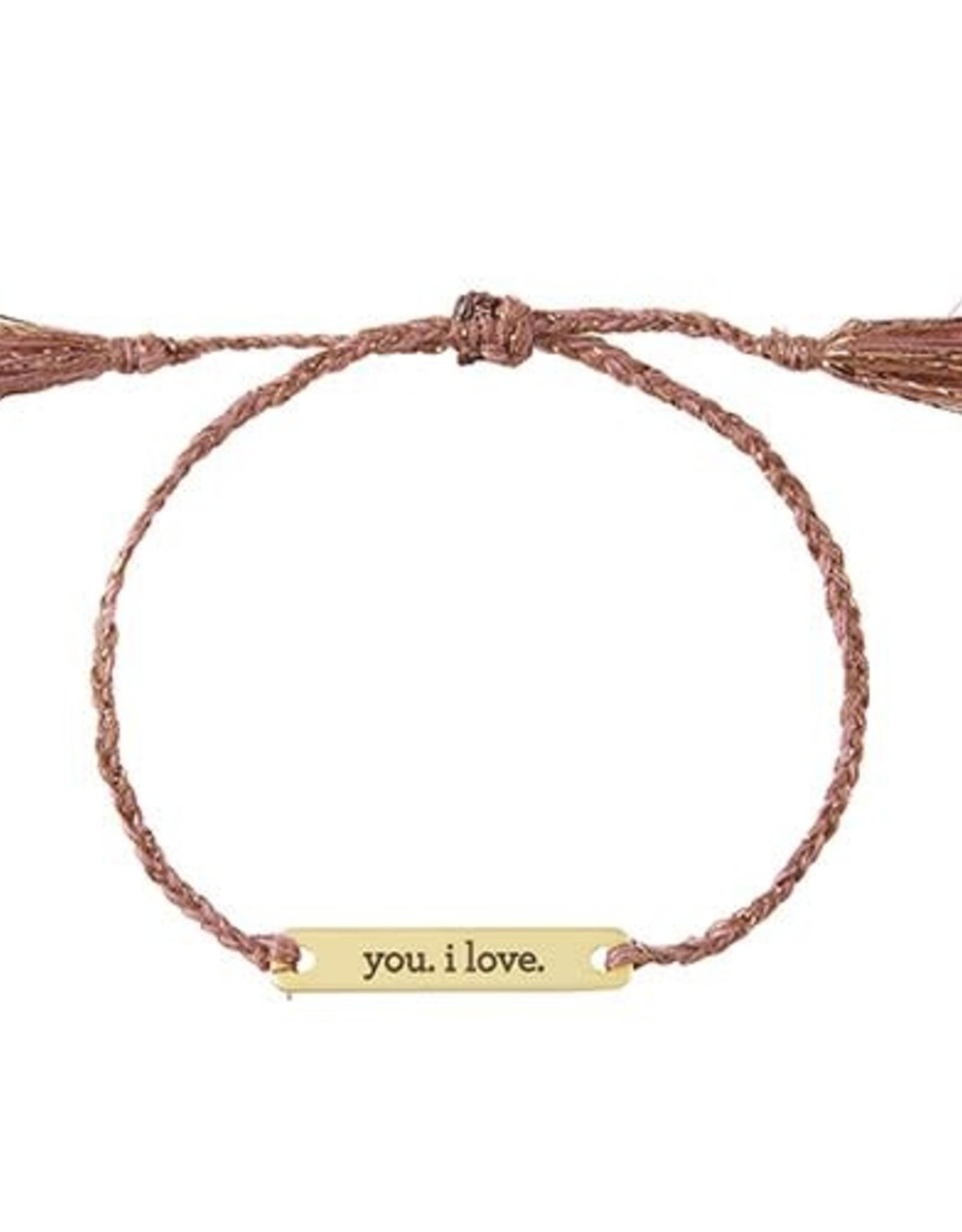 Santa Barbara Joy in a Jar | You, I love Bracelet