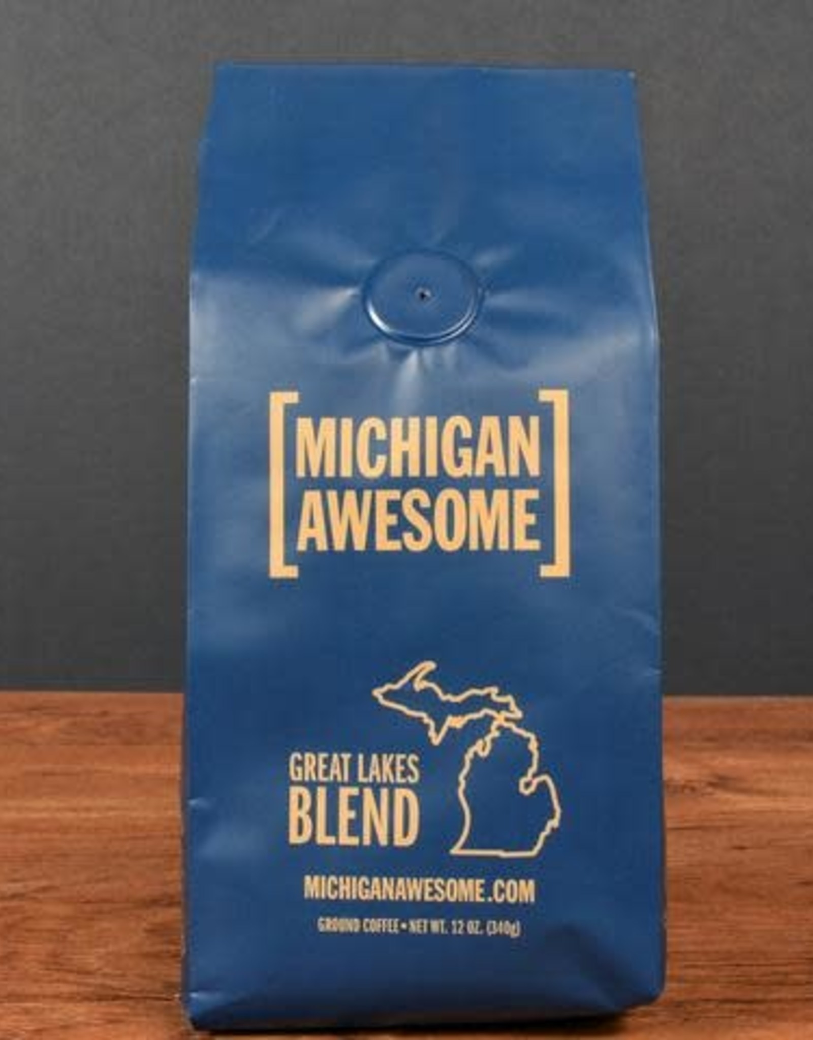 Michigan Awesome Michigan Awesome   Great Lakes Blend Ground Coffee