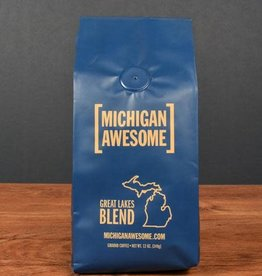Michigan Awesome Michigan Awesome | Great Lakes Blend Ground Coffee