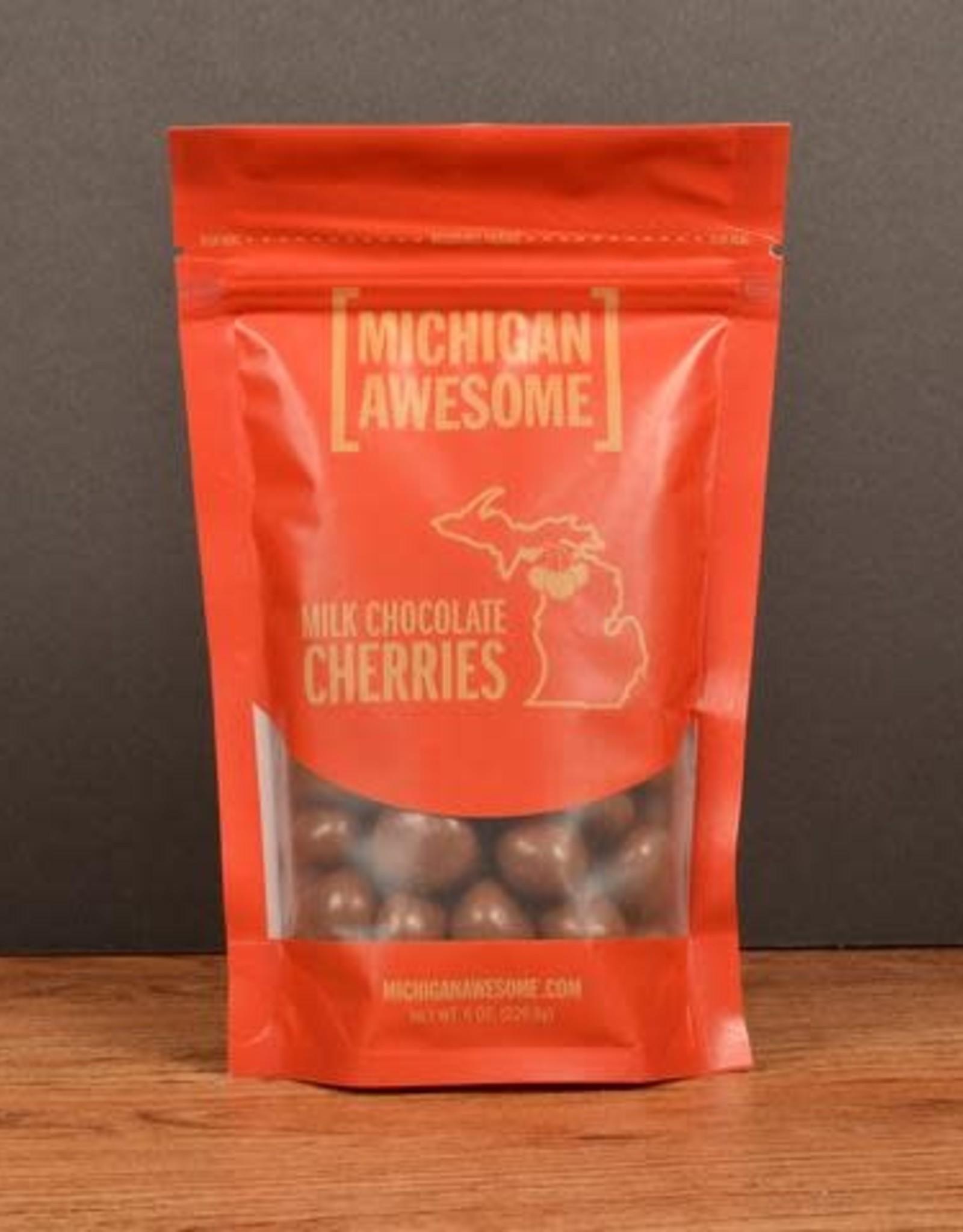 Michigan Awesome Michigan Awesome | Milk Chocolate Cherries