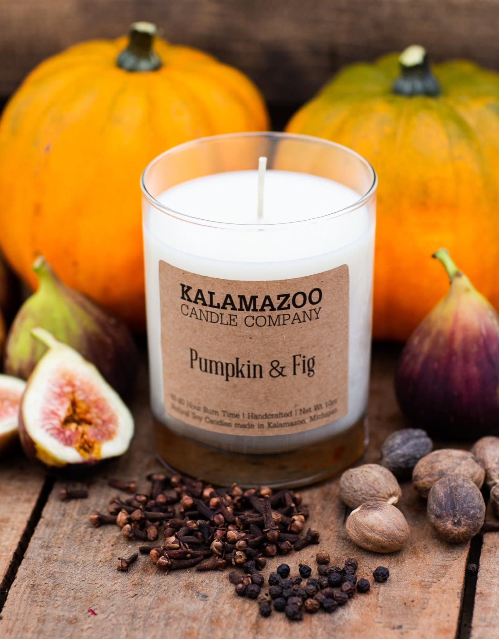 Kalamazoo Candle Co. Kalamazoo Candle Co. | Pumpkin & Fig 10oz Jar