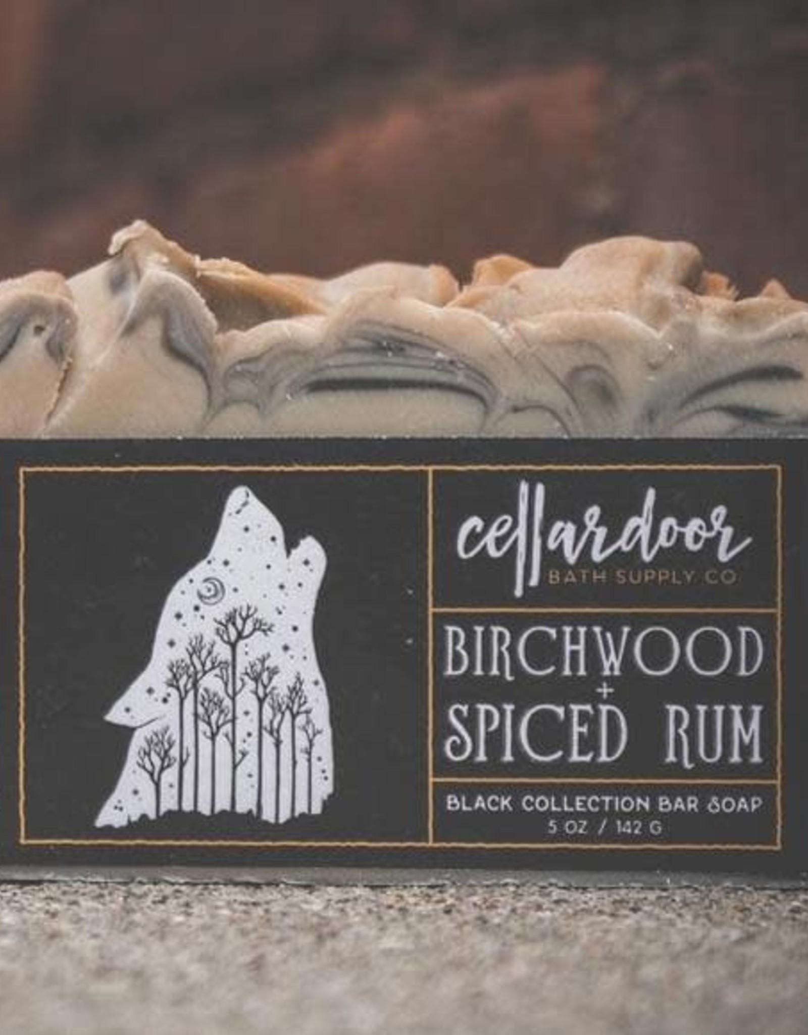 CellarDoor CellarDoor   Birchwood & Spiced Rum Bar Soap