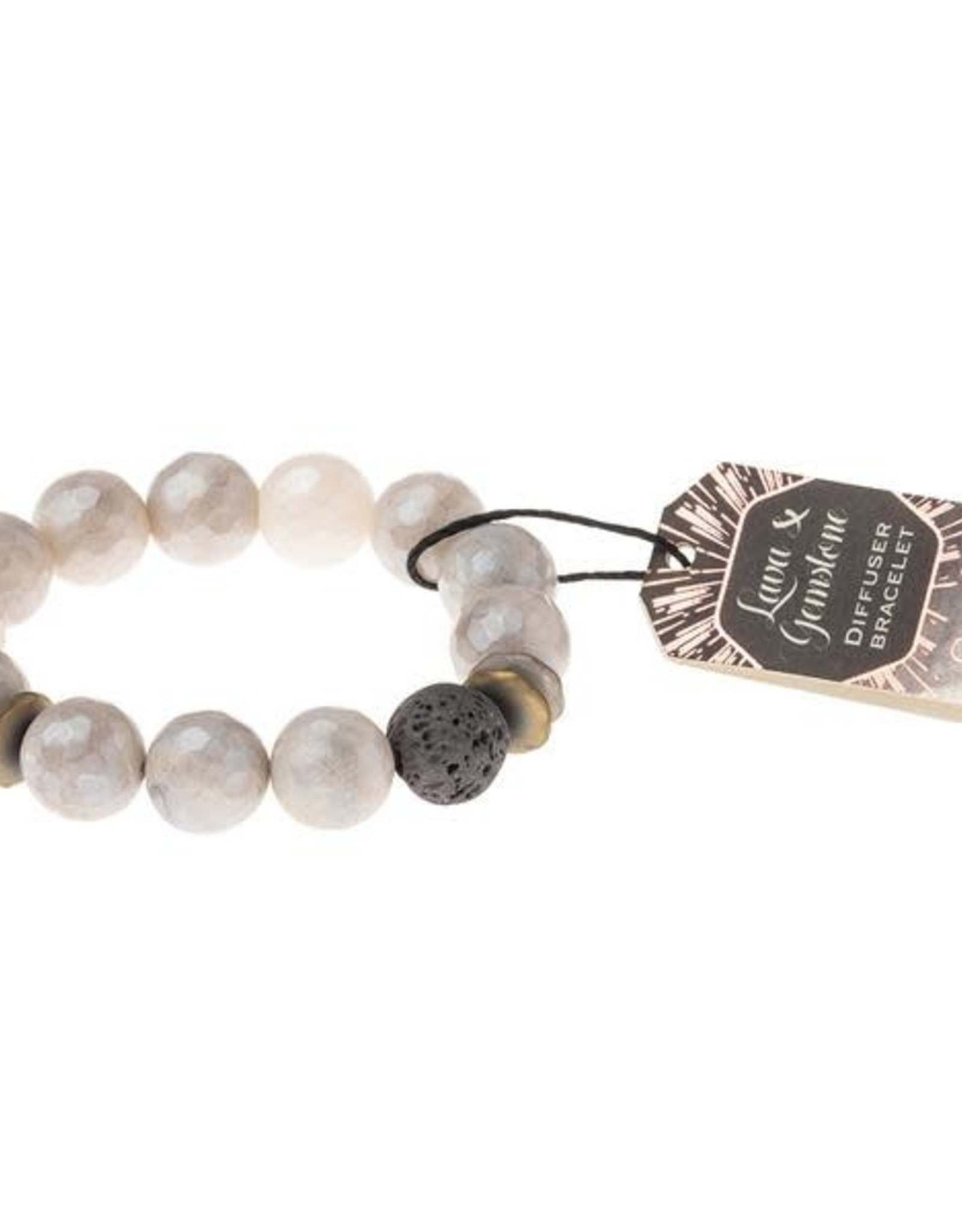 Scout Curated Wears Scout Curated Wears | Lava & Gemstone Diffuser Bracelet