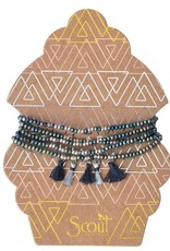 Scout Curated Wears Scout Curated Wears   Metallic Tassel Wrap
