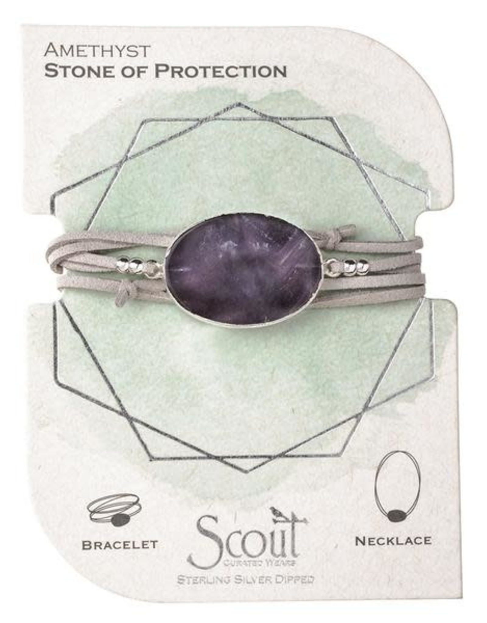 Scout Curated Wears Scout Suede & Stone Wrap